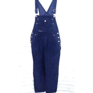 Vintage Squeeze Jeans Corduroy Overalls/Bibs